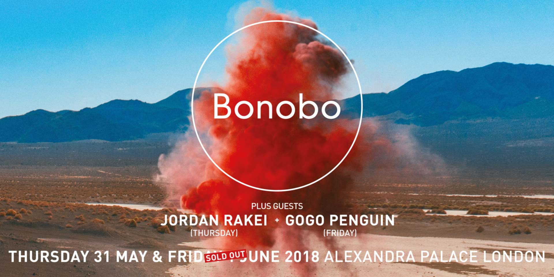 Bonobo - Live at Alexandra Palace Flyer